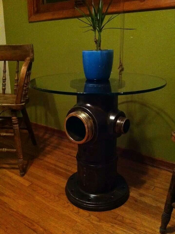 Fire Hydrant Coffee Table Home Decorating Pinterest
