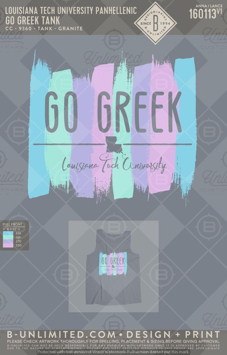 Go Greek! LSU- Panhellenic #BUonYOU #greek #greektshirts #greekshirts #sorority #fraternity #Bidday #Big/little #PRshirts #springbreak