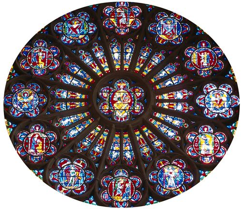 17 best images about architecture rose windows on for Rose window design