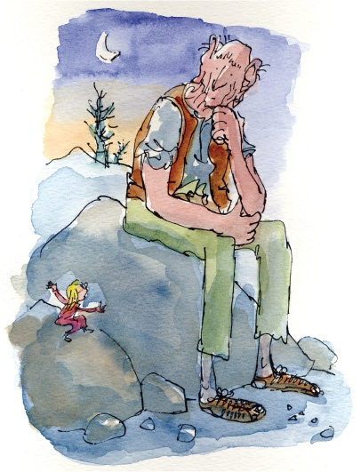 Sophie and The BFG by Roald Dahl, illustrations by Quentin Blake