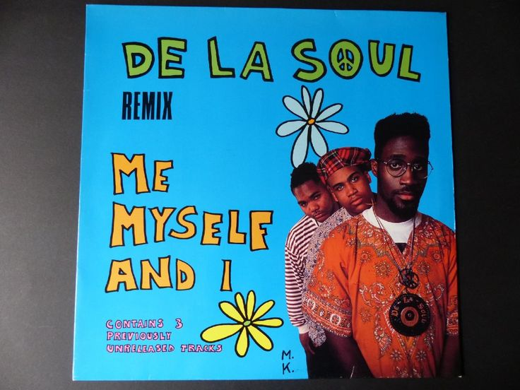 DE LA SOUL - Me Myself And I (Remix) / 1989