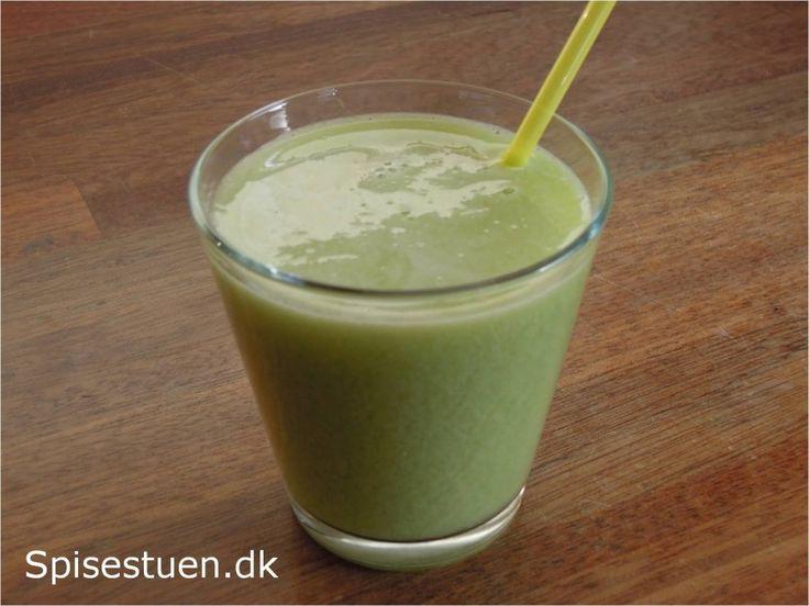 Grøn juice 4 - kiwi, vindruer og lime