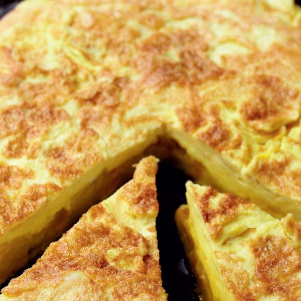 A simple but delicious traditional dish from Spain. This Rick Stein tortilla recipe, or tortilla de patatas, would be an ideal dish for a tapas dinner party.