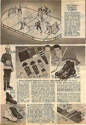 1966 #advert bobby hull stan mikita #hockey gear batman #roller skates,  View more on the LINK: 	http://www.zeppy.io/product/gb/2/311338469353/