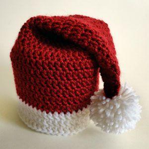 crochet santa hat toilet paper roll cover