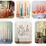 Velas Clasicas Taper Candles