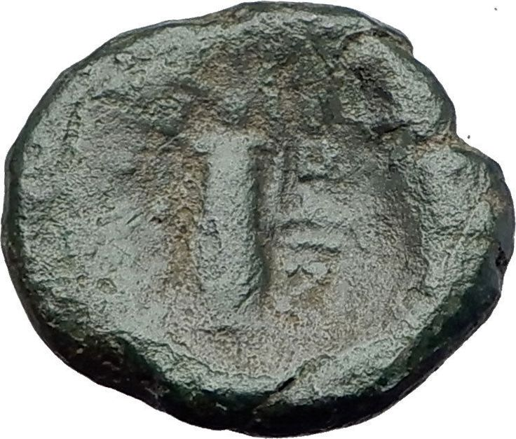 Thessalonica in Macedonia 148BC Ancient Greek Coin ARTEMIS w BOW & QUIVER i62922
