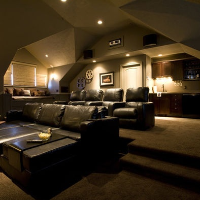 Media Room Design, Pictures, Remodel, Decor and Ideas – page 34