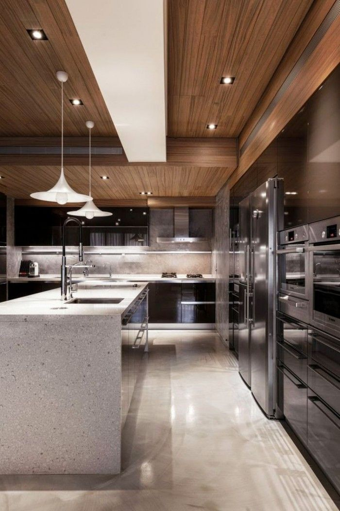 Sleek Contemporary Kitchen Cabinets