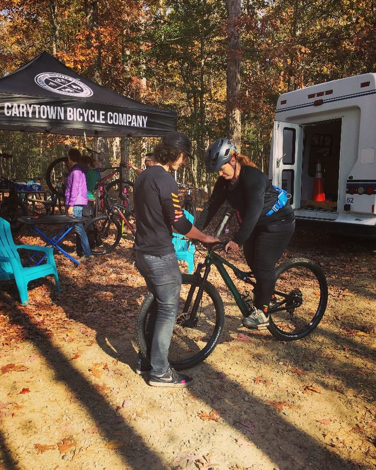 Come out and ride! The Bell Joy Ride Ladies demo is live. Come test out the latest from Specialized Trek and Yeti! ... ... ... ... ... ... #mtb #chesterfield #pocahontusstatepark #belljoyride