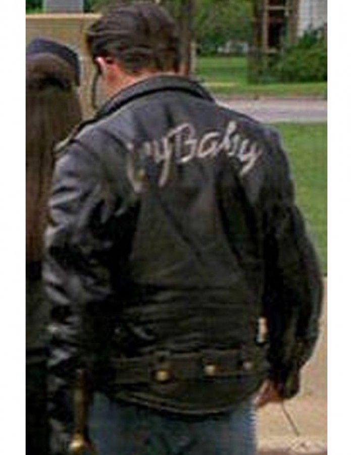 Johnny Depp Cry Baby Jacket In 2020 Johnny Depp Cry Baby Cry Baby Baby Leather Jacket