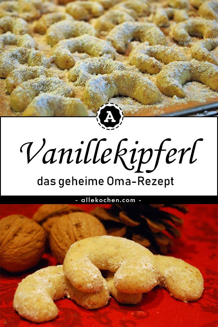 Vanillekipferl Nach Steirer Omas Rezept коледа Food Cookies