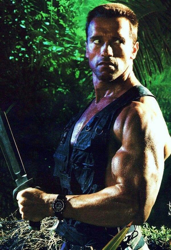 "Dutch (Predator) - ""If it bleeds we can kill it""."