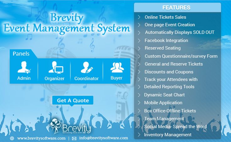 Brevity is a Leading event management software development company. From beginning to the end, we provide the events industry with best-in-its-class technology that deals with entire lifecycle. At every stage of events whether its distinctive venues, arranging your budget, marketing the events and online registration hosting, relieving the check-in procedure, engaging the on-site attendees or eventually offering you post-event analysis to evaluate your expected success.