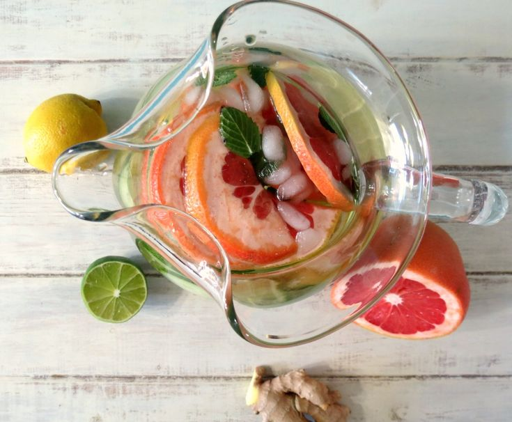 Detox Water   Peanut Butter and Peppers