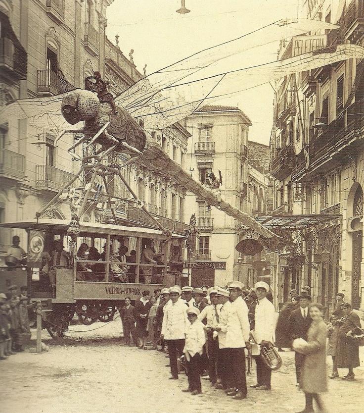Falla Plaza Mariano Benlliure (1928)