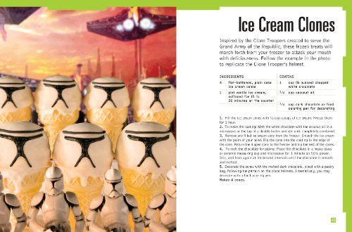 Ice Sabers: 30 Chilled Treats Using the Force of Your Freezer! (Star Wars Cookbook)