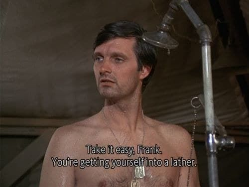 'Usually once I've seen an episode of something, I don't have any interest in seeing it again, but I could watch M*A*S*H episodes over and over again.' —thedoctorismyparabatai