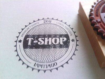25 Beautiful Stamp Designs | Design Woop | The Web Design and Development Blog: Graphic Design, Fruits Logo, Awesome Stamps, Logo Inspiration, Beautiful Stamps, Stamps Designs, 06 Graphic, T Shop Stamp