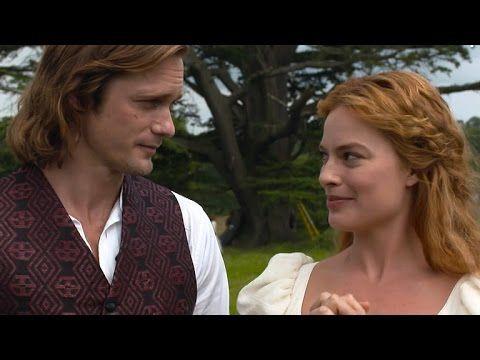 Alexander Skarsgard and Margot Robbie in Tarzan