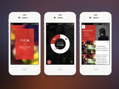 Exhibition Photoquai App - WIP