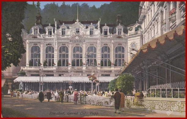 Karlovy Vary (Karlsbad) * Grand Café Pupp *