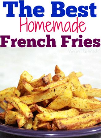 Hot Air Fryer Recipes – Homemade French Fries                                                                                                                                                                                 More