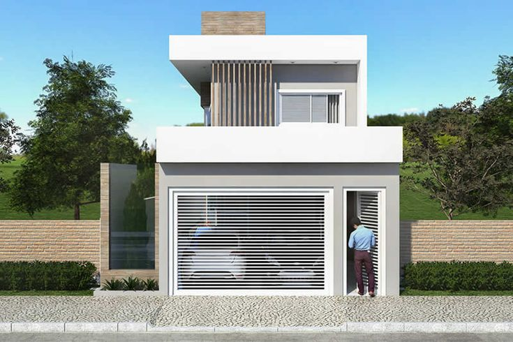 Plano de sobrado con deck y ofur proyectos de casas for Casa moderna 7x20