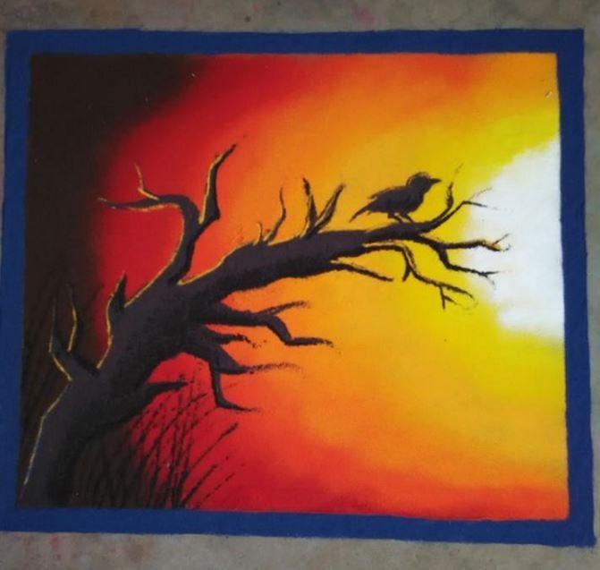 204 best Painting & Rangoli images on Pinterest | Rangoli ideas ...