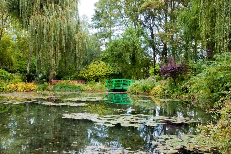Lily pond of Monet's fame, Giverny, Haute-Normandie.