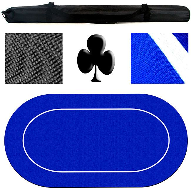 Backed Portable Poker Table Top