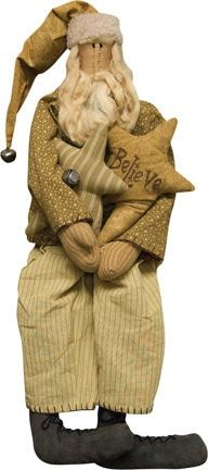I Believe Primitive Santa By Honey And Me~