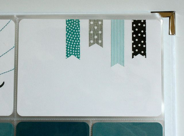 Washi tape flags by Rachel Swartley.  love!  Or, you take your scissors and make Washi Tape Flags by YOU! REALLY love!