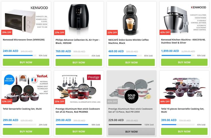New Offers and Deals: Sale on Home and Kitchen Appliances at Souq UAE  Become your own chef from a perfectly baked pie to a dish that is extremely tasty prepare your favorite kind of food and try all the exciting recipes that you always wanted to try using a variety of kitchen equipment and kitchen accessories. You know that you cant fulfill all your desires and reach the peak of your passion for cooking without some helpful and handy cookware like cooking pots pans woks cookware sets and…