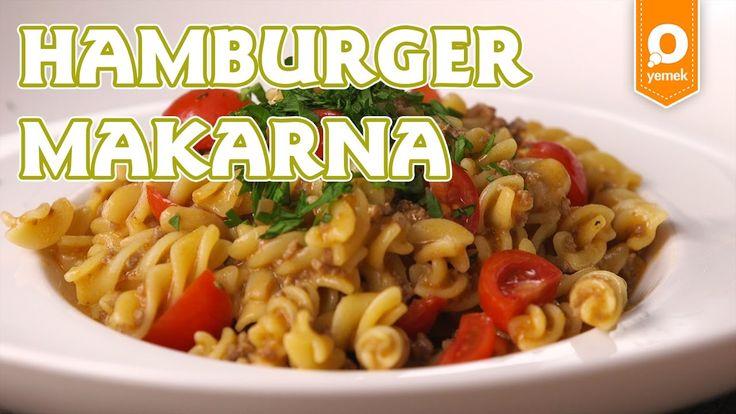 Hamburger ve makarna en sevilen iki lezzet. İnanmazsınız bu sefer hepsi tek tencerede pişiyor, bir çırpıda bitiyor!