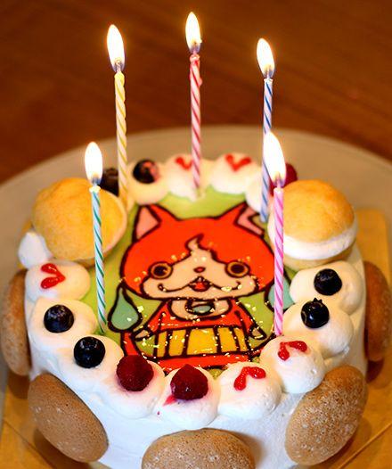 妖怪ウォッチ・ジバニャンのバースデーケーキ。イラストケーキが安心してオーダー出来るケーキ店を紹介。