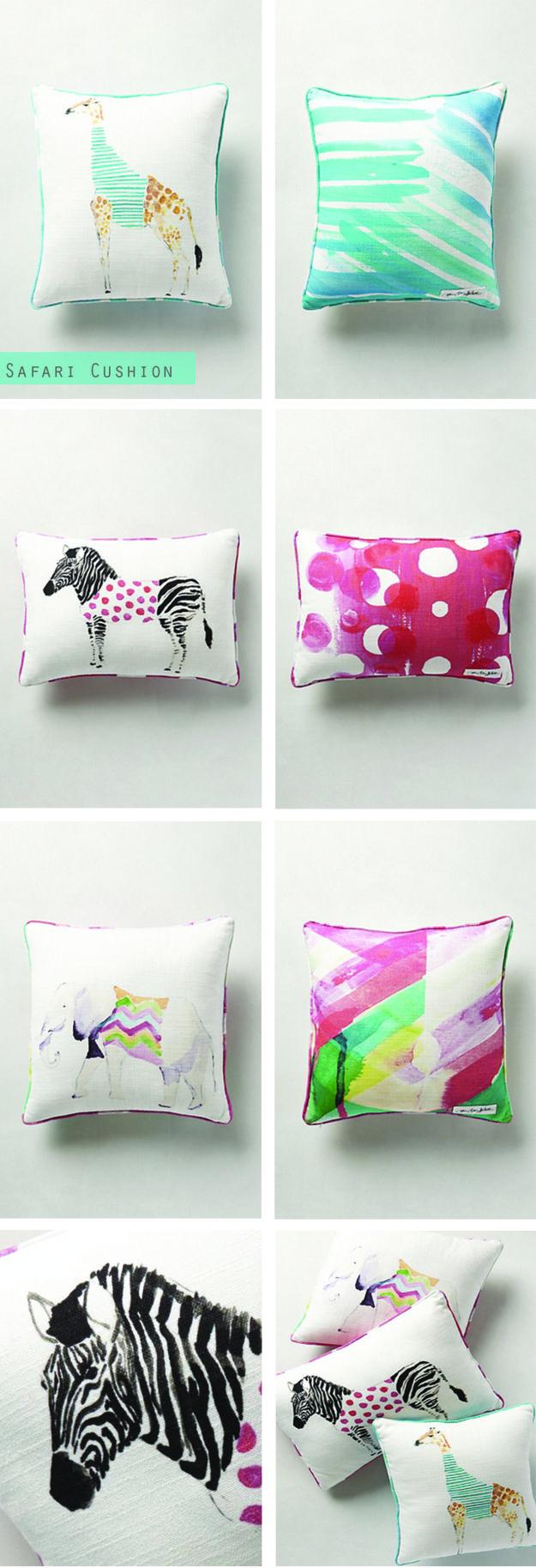 Safari Saunter Cushion by Anthropologie #Anthropologie #pillow #cushion