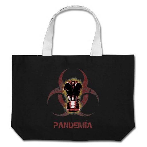 Biohazard Gas Mask Customizable Bags