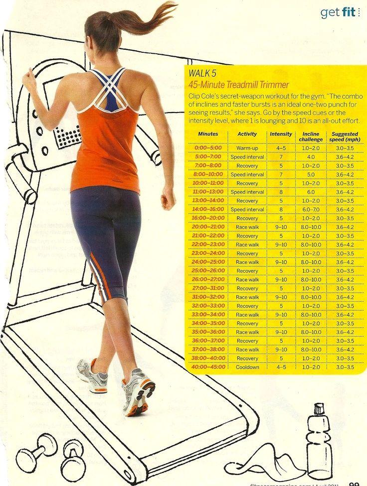 45 Minute Treadmill Trainer