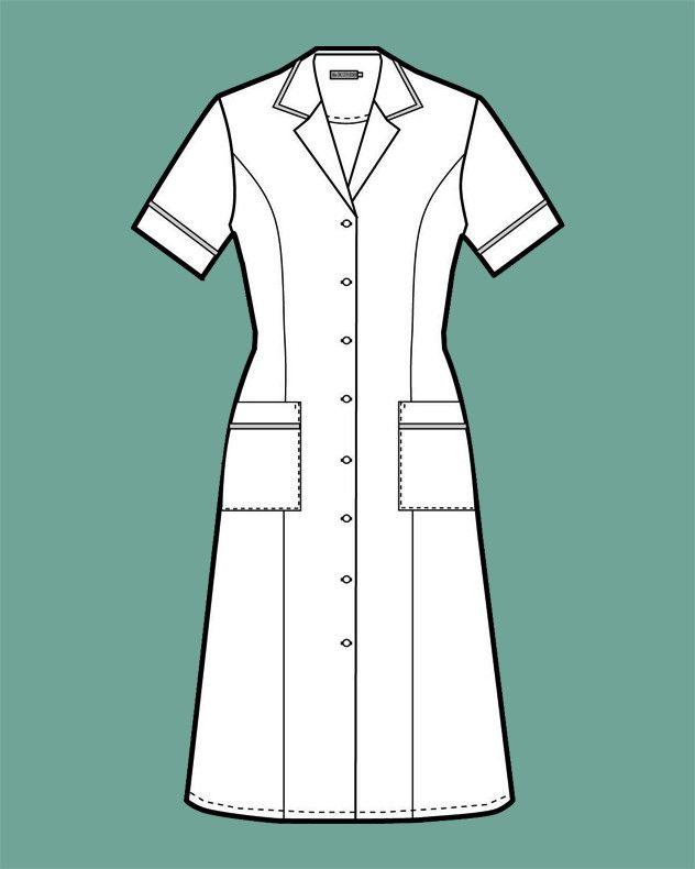 Magnolia Black Classic Maids Housekeeping Dress