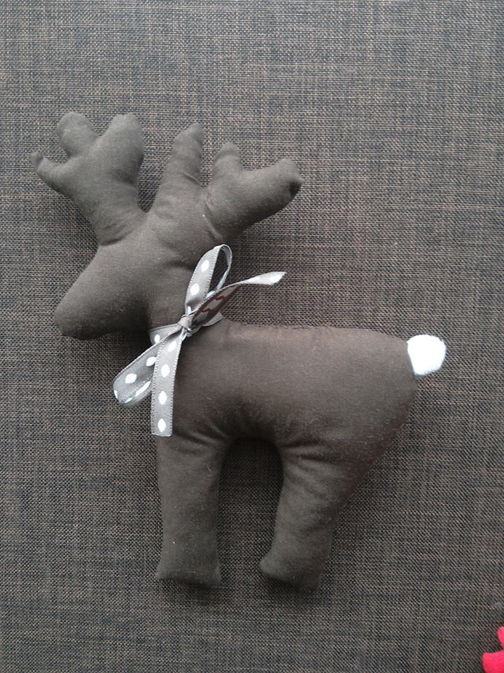 fabric raindeer