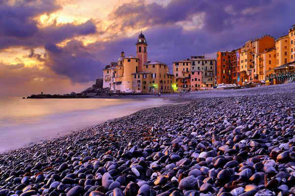 #italy #camogli #genoa #liguria #sea