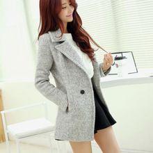 Áo khoác dạ nữ dáng dài, phong cách Hàn Quốc, kiểu dáng thời thượng