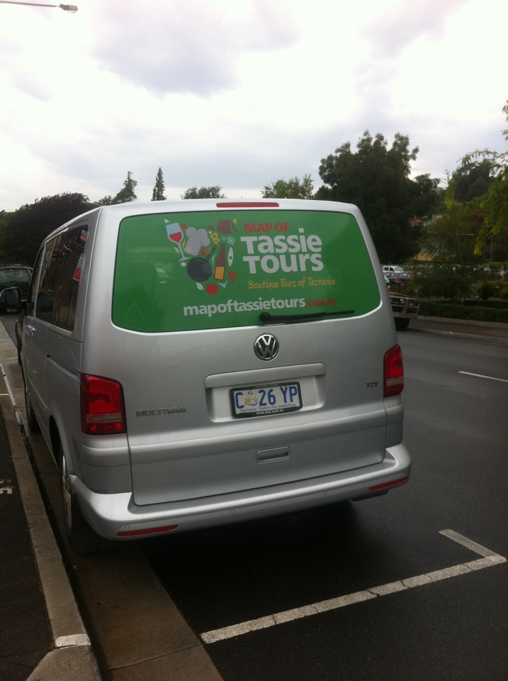 Map of Tassie Tours are on the road  Come have a tour with us relax and enjoy   www.mapoftassietours.com.au