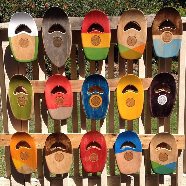 Upcycled bodysurfing hand planes made from sk8 decks with GoPro mount. 100% Handcrafted in San Clemente, CA.