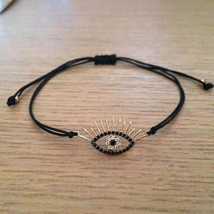 A personal favorite from my Etsy shop https://www.etsy.com/listing/484116149/100-silver-925-sterling-eye-braceletgold