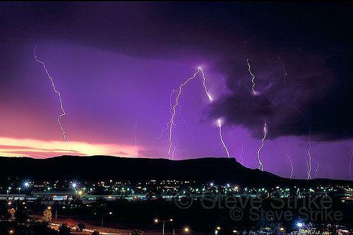 Lightning - Alice Springs, Australia