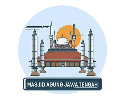 """Check out new work on my @Behance portfolio: """"Masjid Agung Jawa Tengah"""" http://be.net/gallery/37265631/Masjid-Agung-Jawa-Tengah"""