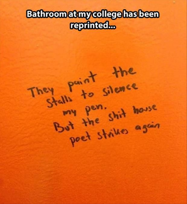 Bathroom Stall Poems 70 best written on the walls images on pinterest | bathroom stall