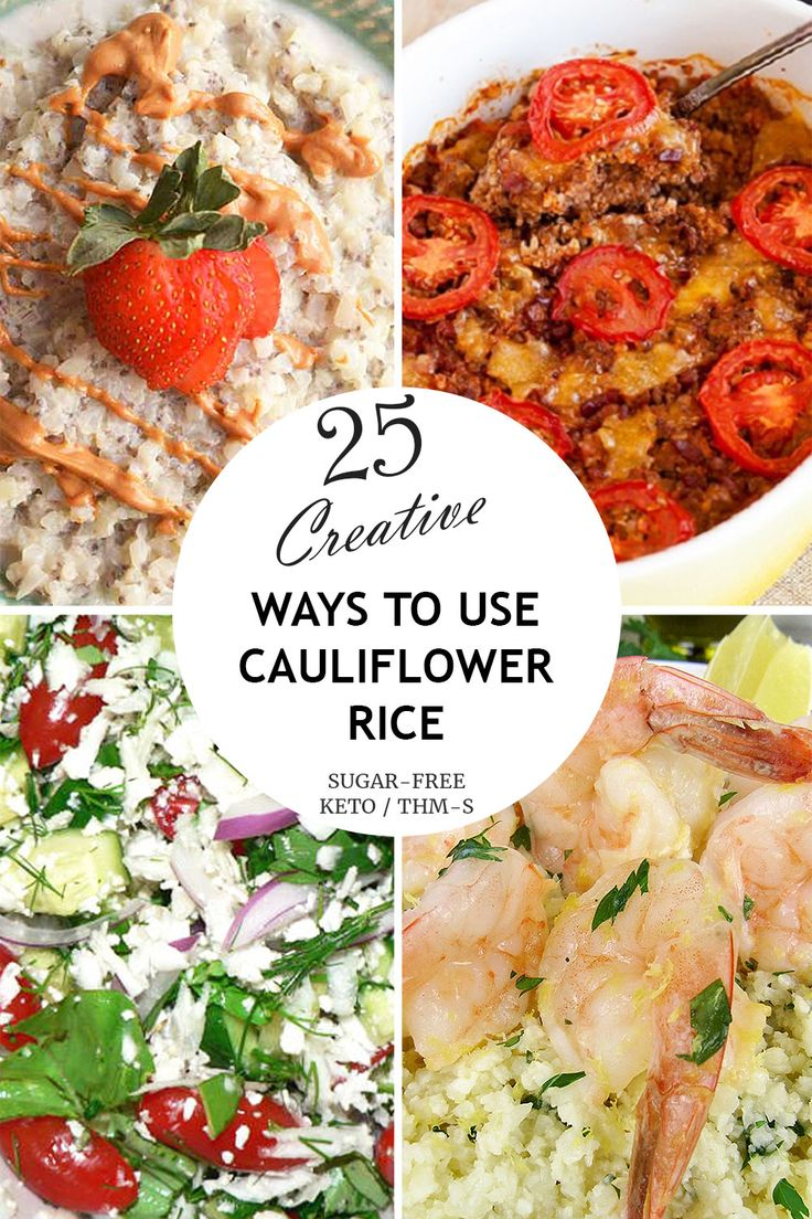 Life Will Never be the Same After These 25 Creative Cauliflower Rice Recipes